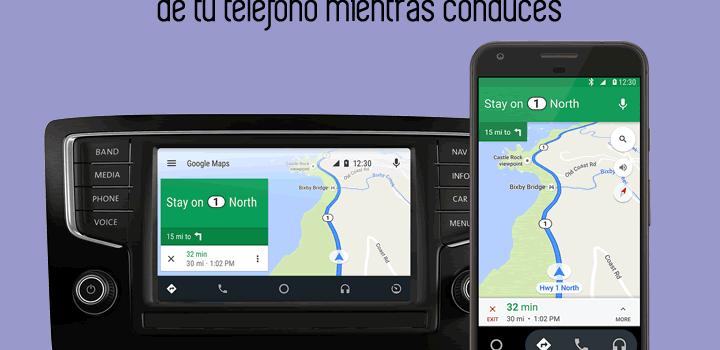 Android Auto. Usa las aplicaciones de tu teléfono mientras conduces