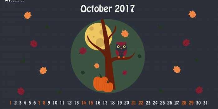 25 Fondos multipantalla con o sin el calendario de octubre 2017