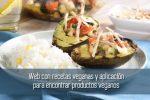 Web con recetas veganas y aplicación para encontrar productos veganos
