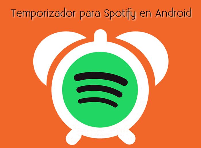 Temporizador para Spotify en Android