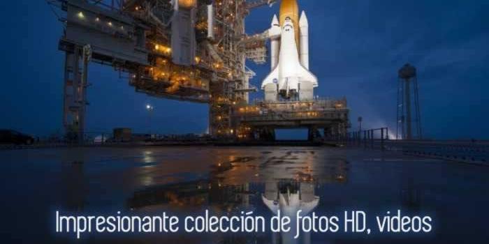 Impresionante colección de fotos HD, videos y sonidos de la NASA