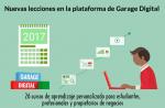 Nuevas lecciones de marketing digital en la plataforma de Garage Digital