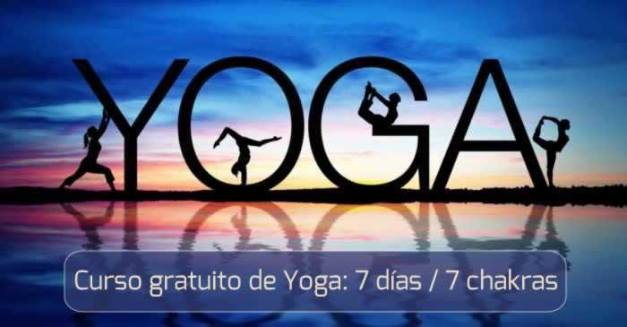 Curso gratuito de Yoga: 7 días / 7 chakras