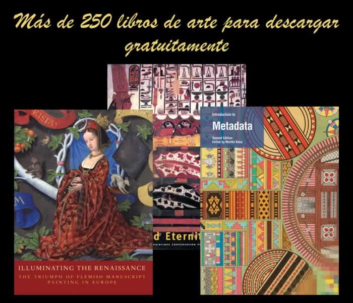 Más de 250 libros de arte para descargar gratuitamente