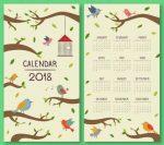 Más de 1.100 calendarios 2018 para personalizar e imprimir
