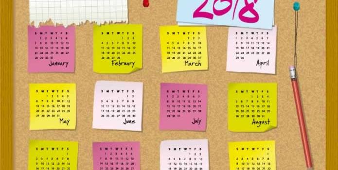 Todas las posibilidades para que encuentres tu almanaque 2018