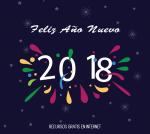 ¡Feliz Año Nuevo 2018!