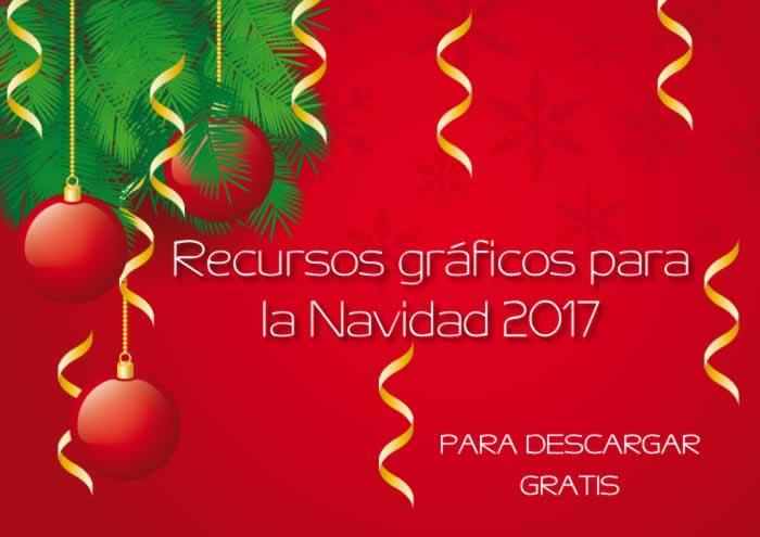 Recursos gráficos gratuitos para Navidad 2017