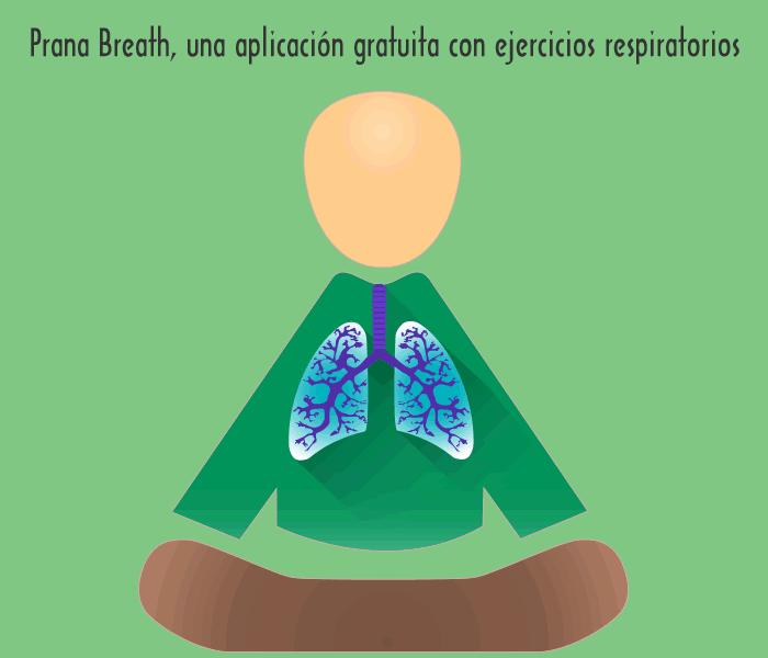 Prana Breath, una aplicación gratuita con ejercicios respiratorios para librarte del estrés