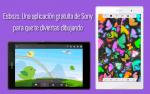 Boceto. Una aplicación gratuita de Sony para que te diviertas dibujando. Actualizado