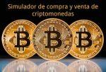 Simulador de compra y venta de criptomonedas