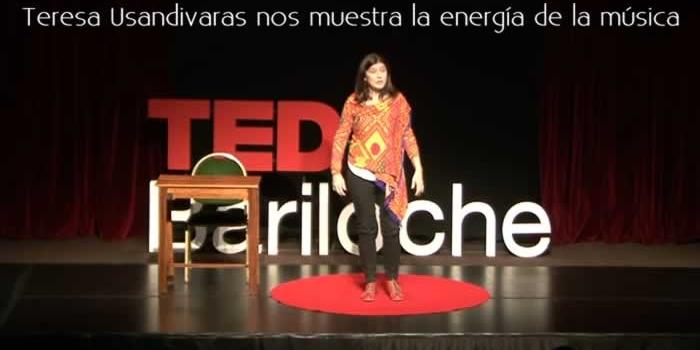 Teresa Usandivaras nos presenta la energía de la música