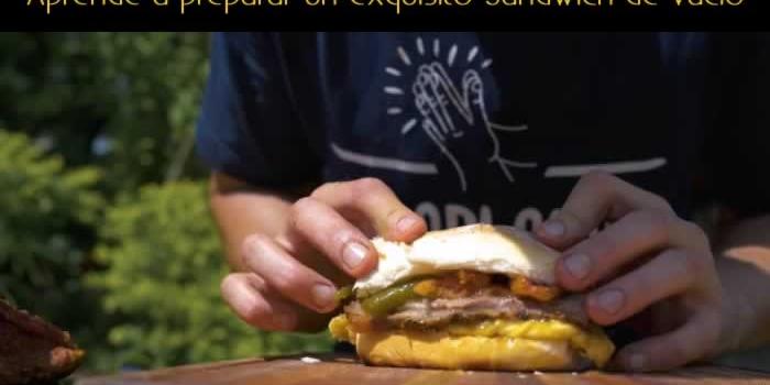 Aprende a preparar un exquisito Sandwich de vacío
