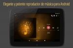 Elegante y potente reproductor de música para Android