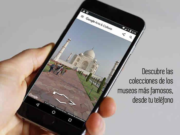 Descubre las colecciones de los museos más famosos, desde tu teléfono