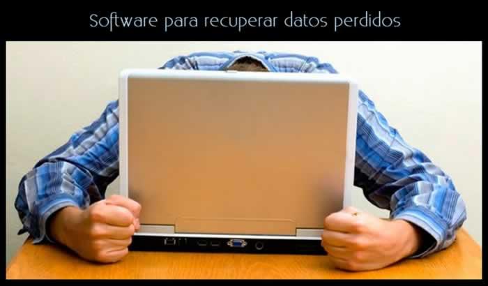 Software para recuperar datos perdidos