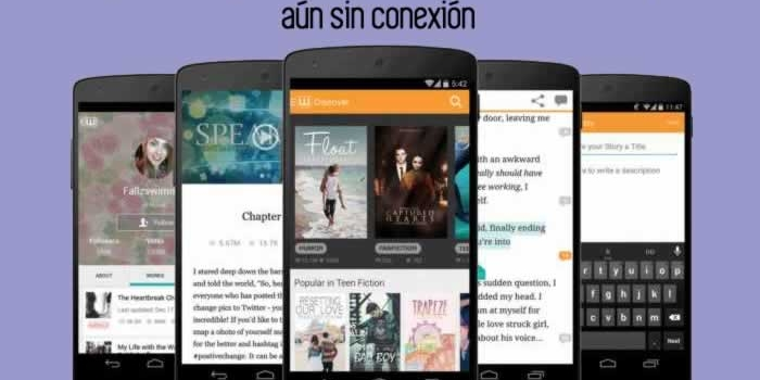 Una aplicación gratuita para leer historias en tu teléfono, aún sin conexión