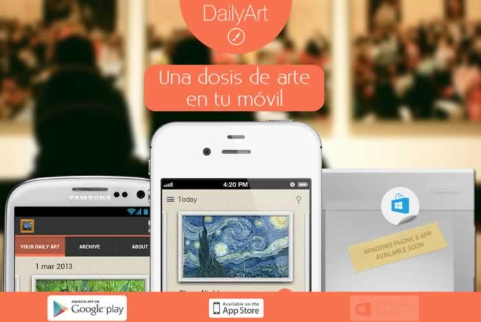DailyArt. Una dosis de arte en tu móvil