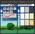App para escribir, dibujar y diagramar en tu móvil