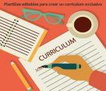 Plantillas editables para crear un currículum exclusivo gratis