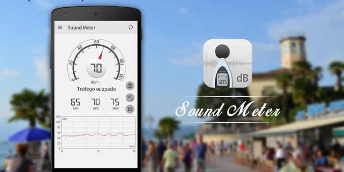 Un práctico y confiable medidor de ruido en tu teléfono
