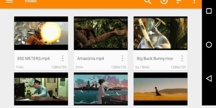 VLC. Uno de los mejores reproductores multimedia gratuitos para móviles
