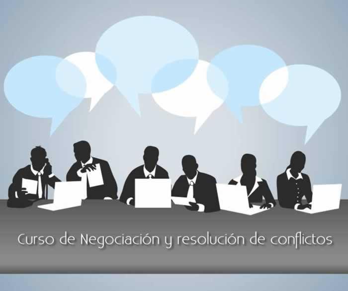 Curso de Negociación y resolución de conflictos. Inicia 18/05/18