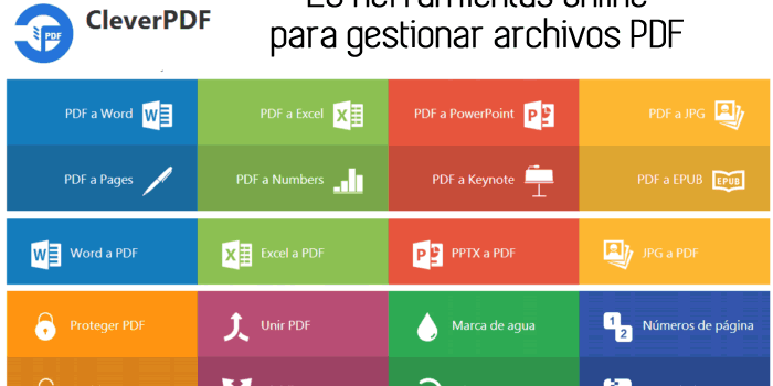 20 herramientas gratuitas online para gestionar archivos PDF