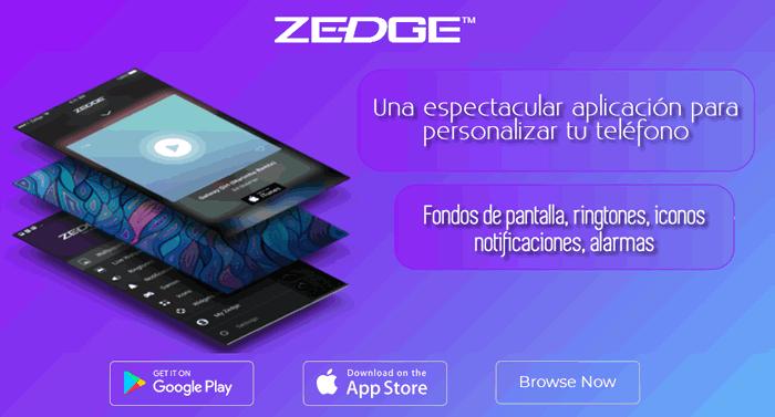 ZEDGE. Una espectacular aplicación para personalizar tu teléfono