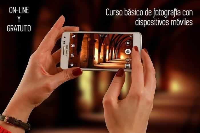 Curso básico de fotografía digital con dispositivos móviles