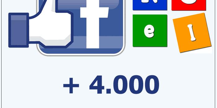 Nuevo logro en Facebook