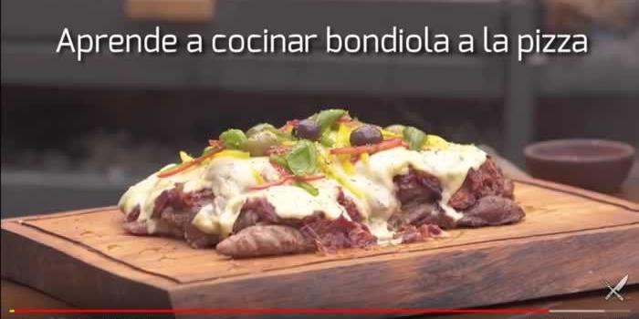 Video para aprender a cocinar una bondiola a la pizza