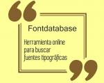 Herramienta online para buscar fuentes tipográficas