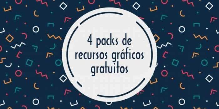 4 Packs de recursos gráficos gratuitos