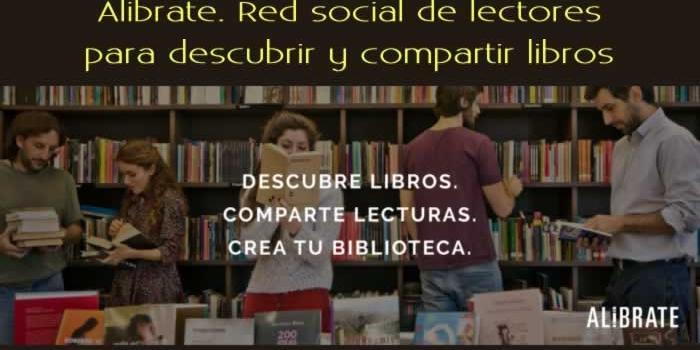 Alibrate. Red social de lectores para descubrir y compartir libros