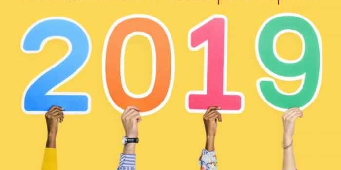 Calendarios 2019 listos para imprimir