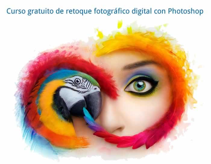 Curso gratuito de retoque fotográfico digital con Photoshop