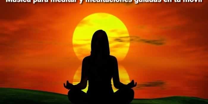 Música para meditar y meditaciones guiadas en tu móvil