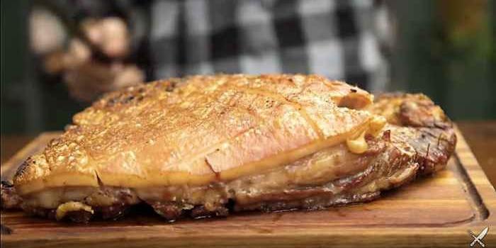 Aprende a cocinar una exquisita panceta entera asada