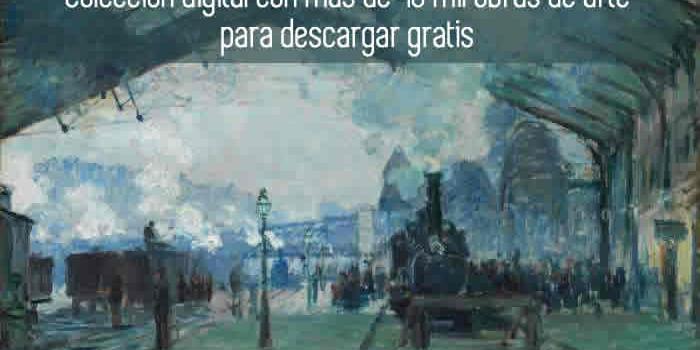 Colección digital con más de 40 mil obras de arte para descargar gratis