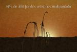 Más de 480 fondos artísticos multipantalla
