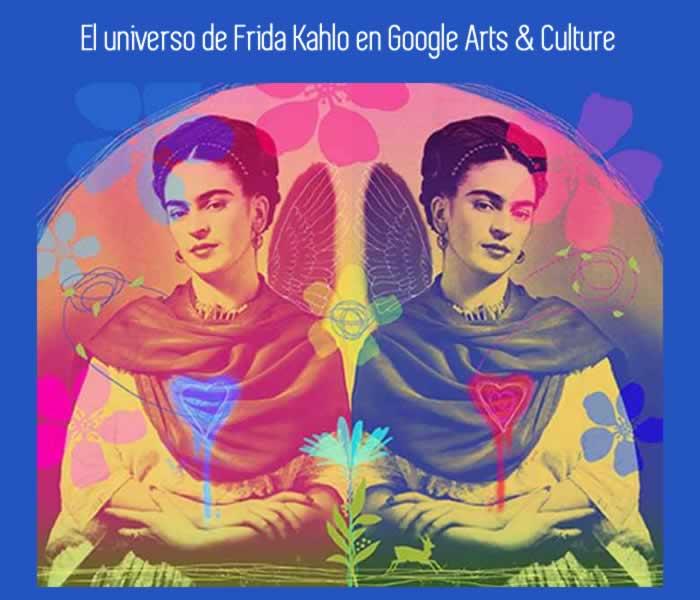 El universo de Frida Kahlo en Google Arts & Culture