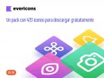 Un pack con 420 iconos para descargar gratuitamente