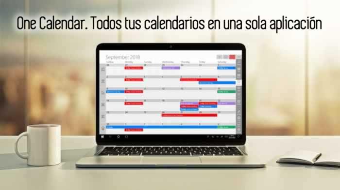 One Calendar. Todos tus calendarios en una sola aplicación