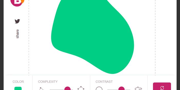 Aplicación web para crear formas coloridas y descargarlas en formato SVG