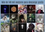 Más de 140 mil avatares para descargar gratis
