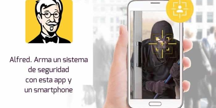 Alfred. Arma un sistema de seguridad con esta app y un smartphone