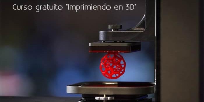 Curso gratuito «Imprimiendo en 3D»