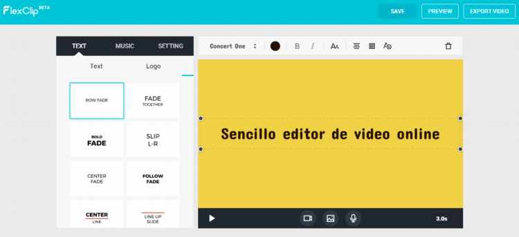 Poderosa herramienta online para crear videos fácilmente