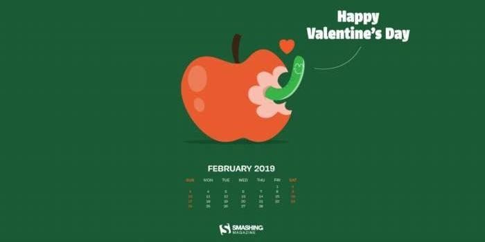 25 creativos fondos multipantalla, 10 con el calendario de febrero 2019